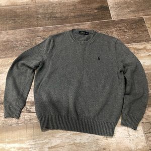 Polo Ralph Lauren | gray sweater